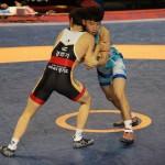 레슬링 남고부 그레꼬로만형 55kg 준준결승 남철우 대 문성주(5)